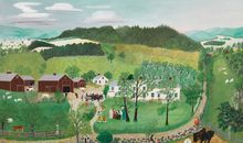 How the U.S. Government Deployed Grandma Moses Overseas in the Cold War