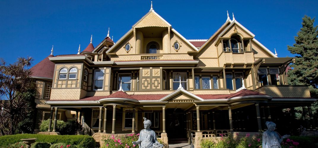 Caption: Take a Virtual Tour of the Winchester House