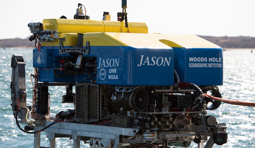 The ROV Jason, which will explore Lost City and take samples this month.