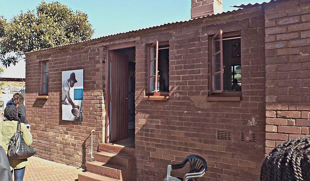 The Nelson Mandela House.