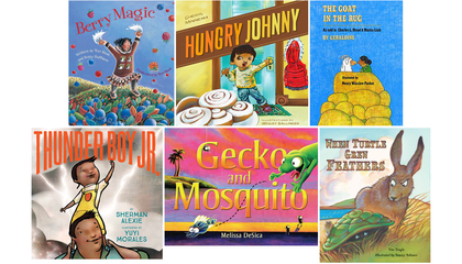 Happy holidays! Six favorite picture books from imagiNATIONS Story & Discovery