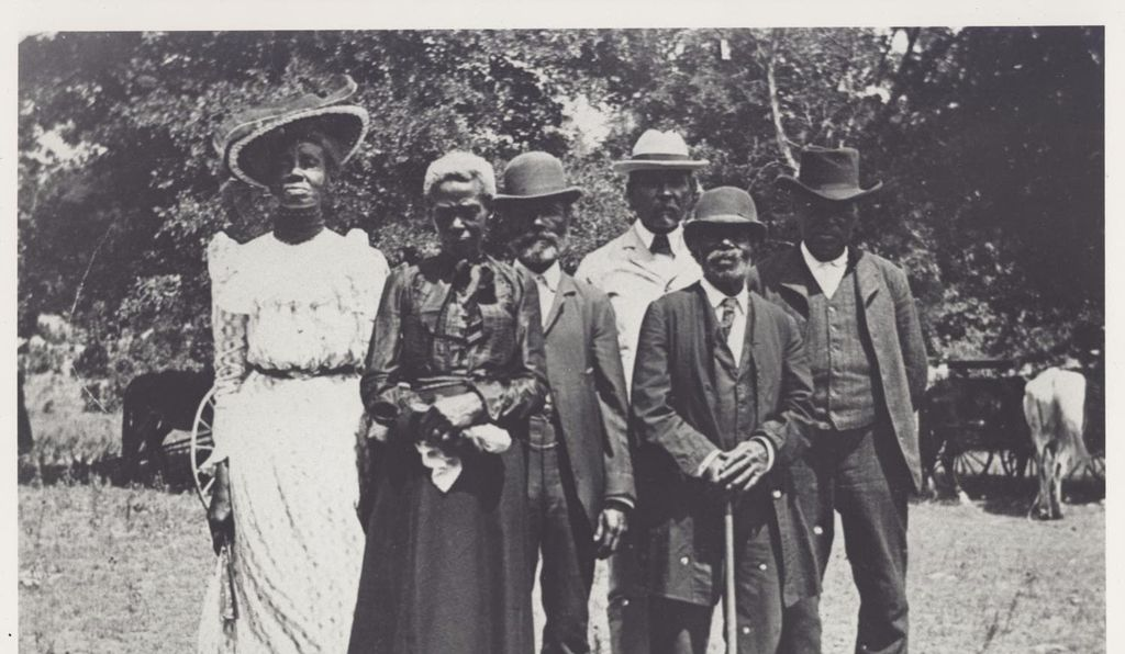 Photograph from Juneteenth Emancipation Day celebration, June 19, 1900