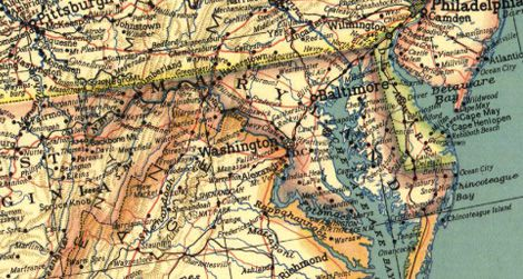the secret to national geographic s maps is an 80 year old font arts culture smithsonian