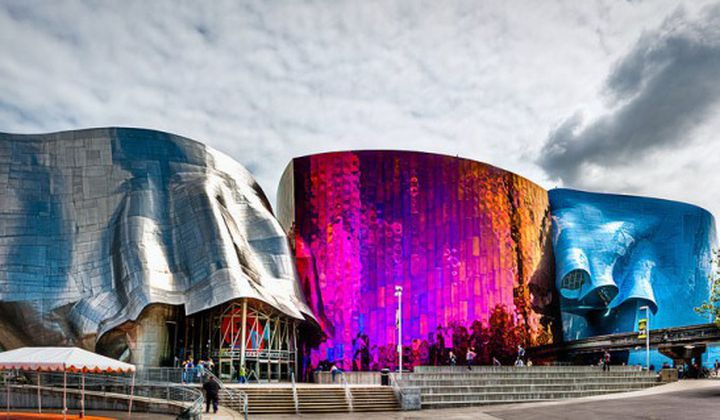 Museum of Pop Culture by Frank Gehry