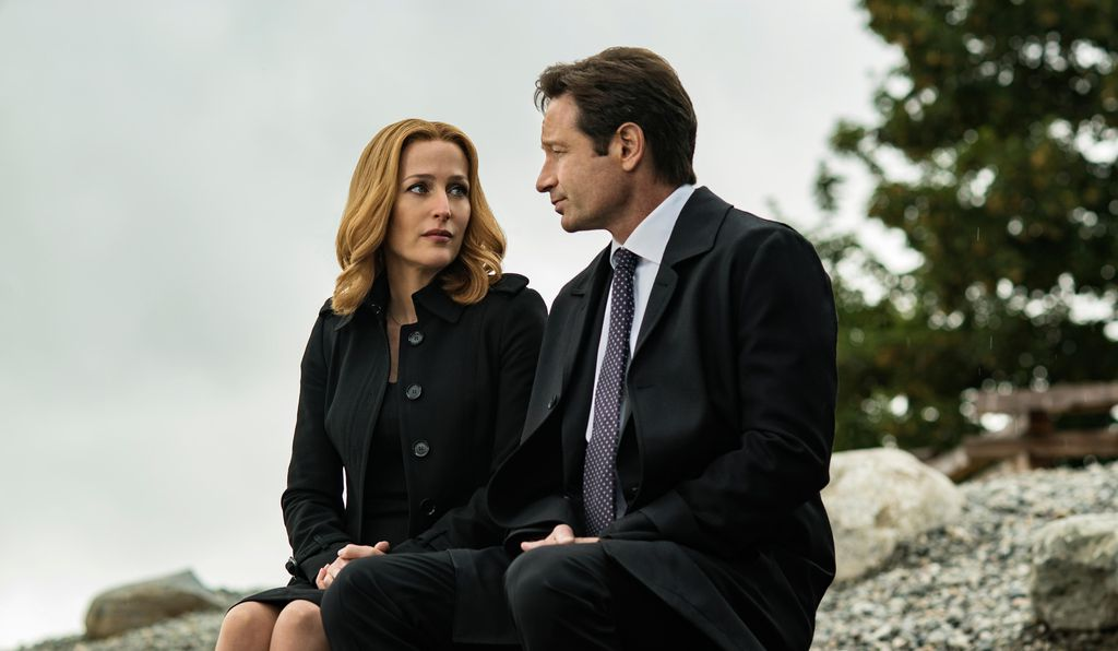 "Skeptic and believer: Gillian Anderson and David Duchovny reprise their roles as FBI special agents Dana Scully and Fox Mulder in a new season of ""The X-Files."