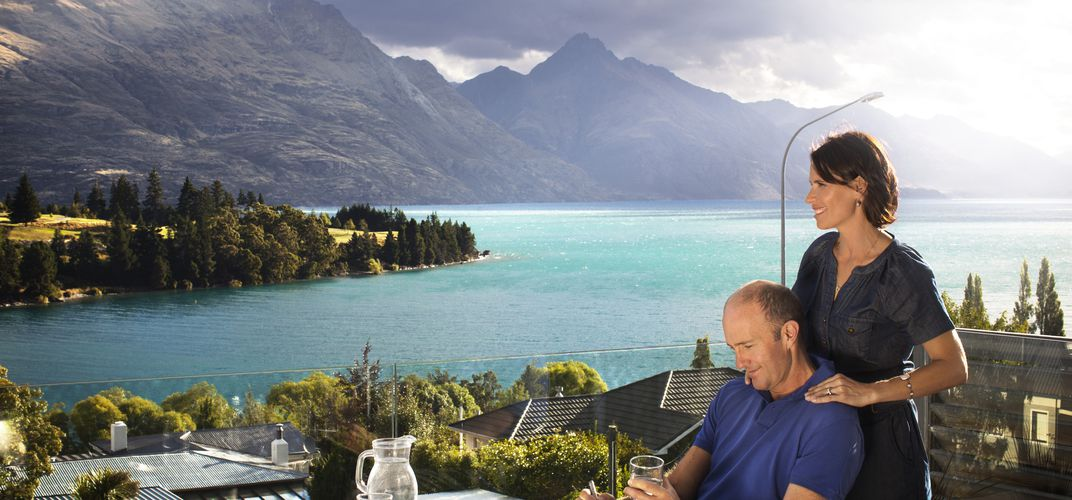 Looking out over Queenstown. Credit: Chris Sisarich/Tourism New Zealand
