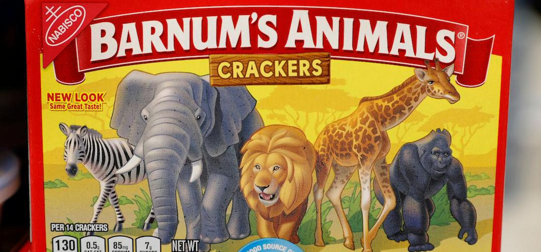 Caption: Animal Crackers Have Been Freed From Their Cages