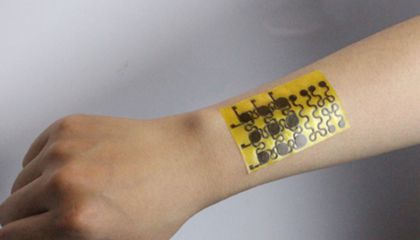"This Electronic ""Skin"" Already Has a Sense of Touch. Now It Can Also Heal Itself"