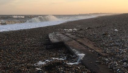 Storms Reveal Two Historic Shipwrecks on England's Eastern Coast