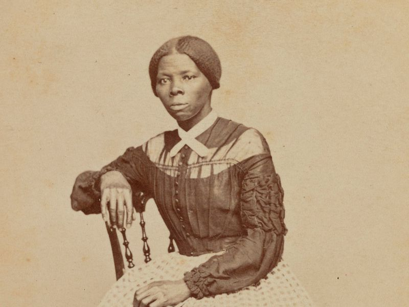 Harriet Tubman, detail