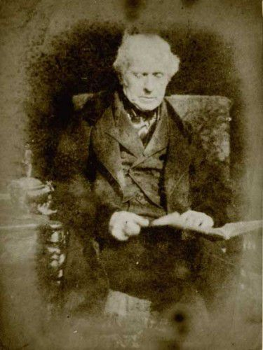 Sir David Brewster, author of Letters on Natural Magic.
