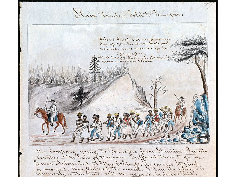 Retracing Slavery's Trail of Tears | History | Smithsonian
