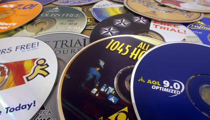 Remember These Free AOL CDs? They're Collectibles Now
