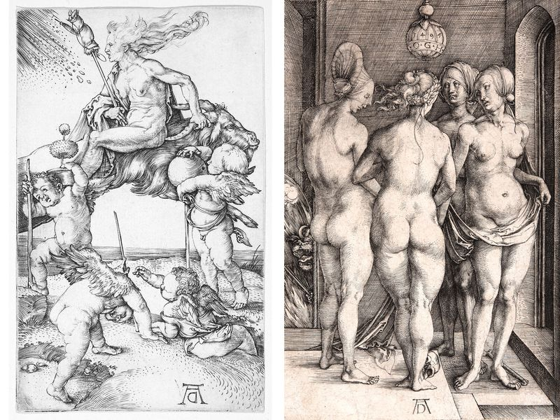 Albrecht Durer drawings of witches