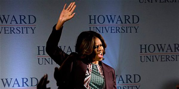 Mrs. Obama: High school diploma not enough