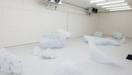 A Museum in New York City Is Exhibiting Fragments of a Melting Glacier
