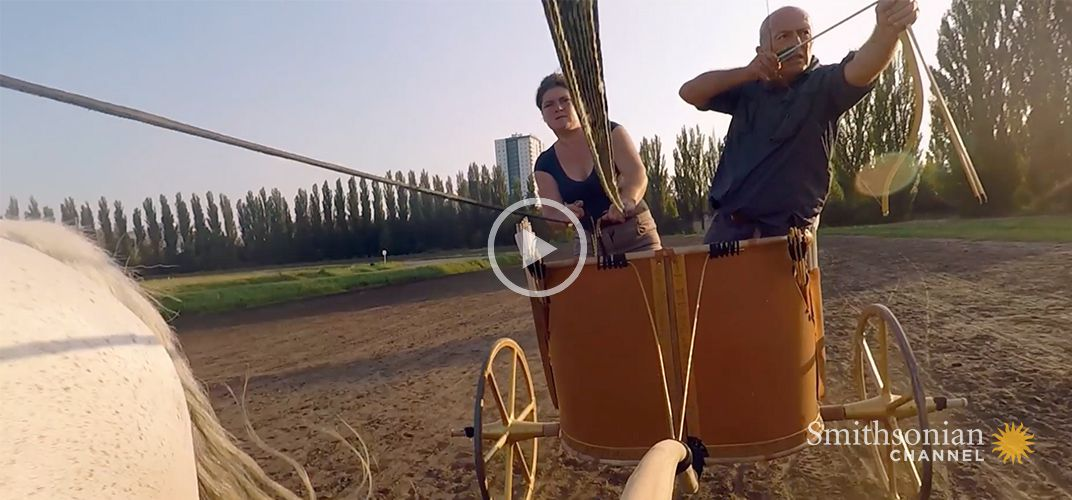 Caption: Why the Two-Wheel Chariot Was So Effective in Ancient Battles