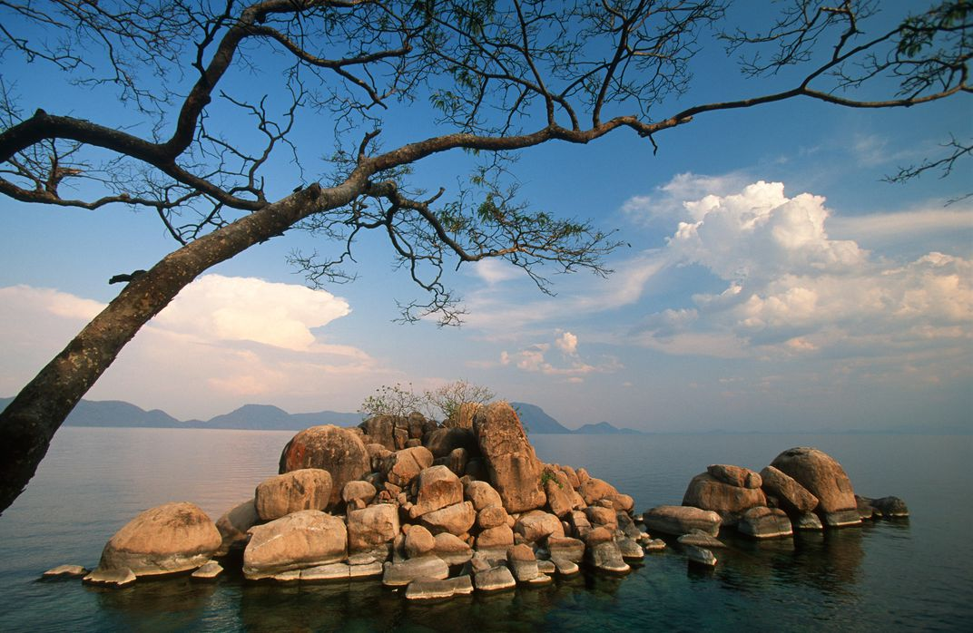 Lake Malawi rocks