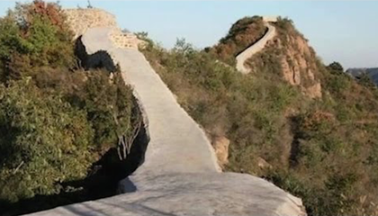 People Really Hate a Newly Repaired Stretch of the Great Wall of China