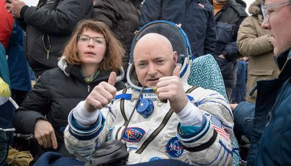 Scott Kelly's Journey Home After His Year in Space