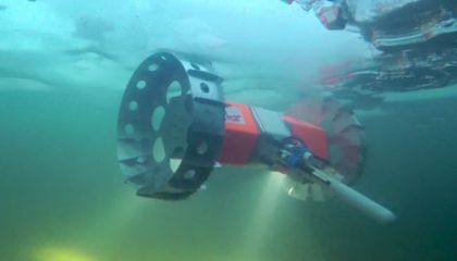 This Rover Drives Under Ice And Could Explore Extraterrestrial Oceans