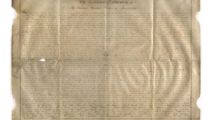 Found: A Second Parchment Copy of the Declaration of Independence