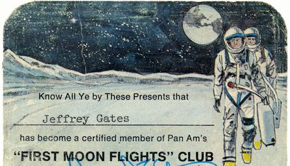 """I Was a Card-Carrying Member of the """"First Moon Flights"""" Club"""