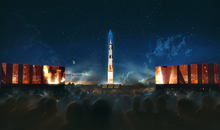 Apollo 11 Rocket to Be Projected on D.C. Monument