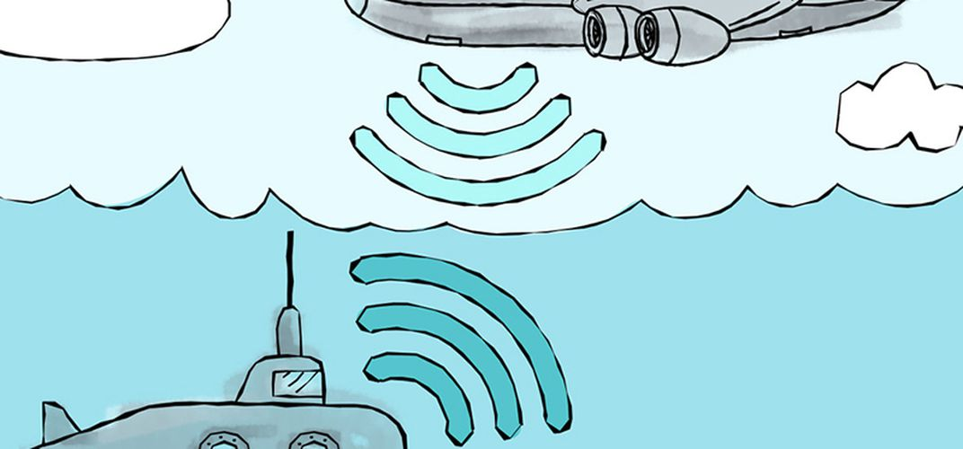 Caption: New Technology Can Communicate From Water to Air