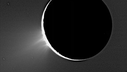 Could Methane-Spewing Microbes Be Living in the Depths of a Subsurface Ocean on Saturn's Moon Enceladus?
