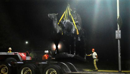 Baltimore Quietly Removes Four Confederate Monuments