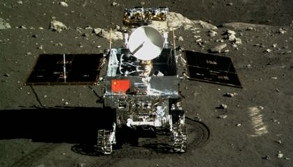 China's Lunar Rover Just Melodramatically Announced Its Impending Demise