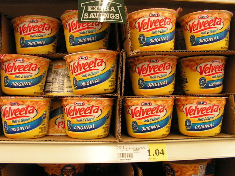 Velveeta Boxes Shortage
