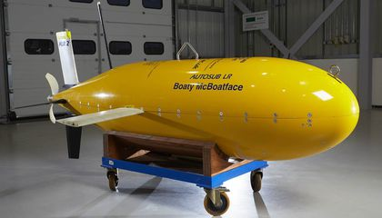Boaty McBoatface Completes Its First Mission