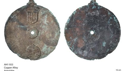 Rare Mariner's Astrolabe Found in Shipwreck Near Oman