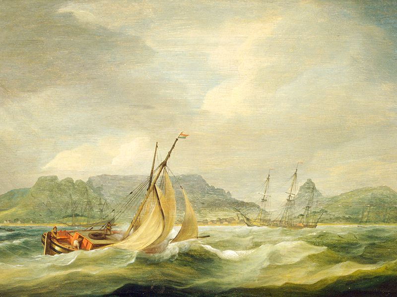 Table Bay, Cape Town, 1790s