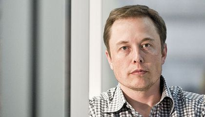 South African-born entrepreneur Elon Musk