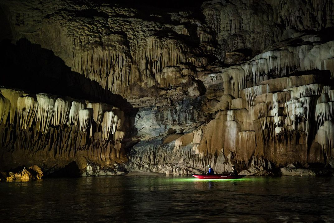 Otherworldly Photos From Inside One of the World's Largest River Caves