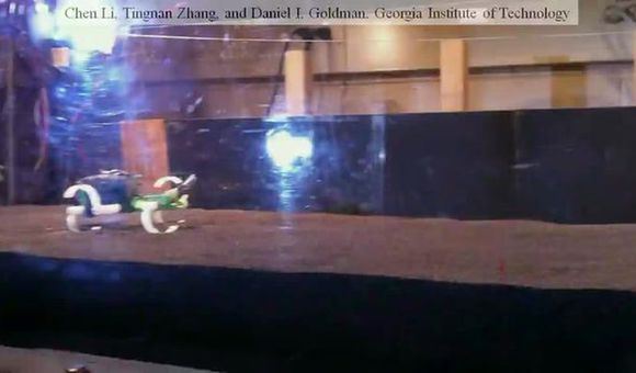 Preview thumbnail for video'Lizard-Inspired Running Robot