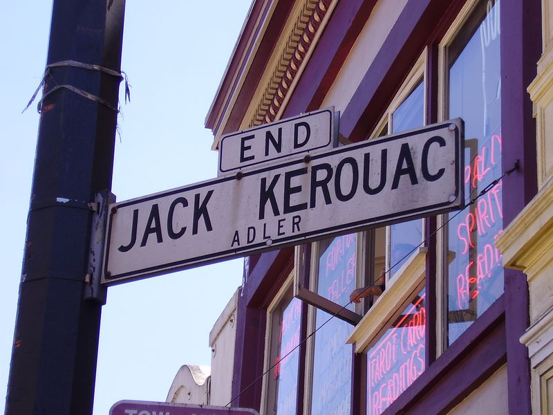 Kerouac Alley in San Francisco
