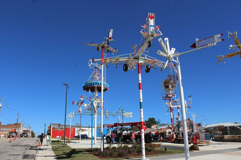 The Wilson's Whirligig Park and Museum in North Carolina