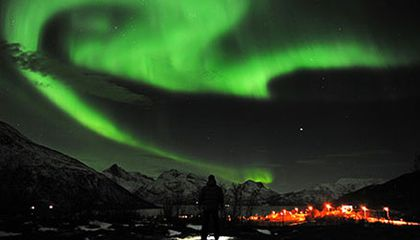 This Week's Breathtaking Aurora Borealis