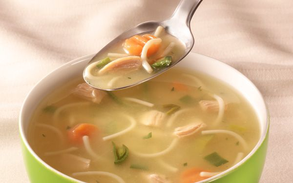 Does chicken soup really help with a cold?