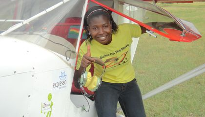 A Ghanaian Woman's Quest to Work---and Fly