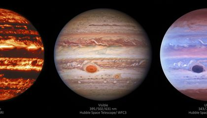Peer Into Jupiter's Gassy Atmosphere With These Stunning New Photos