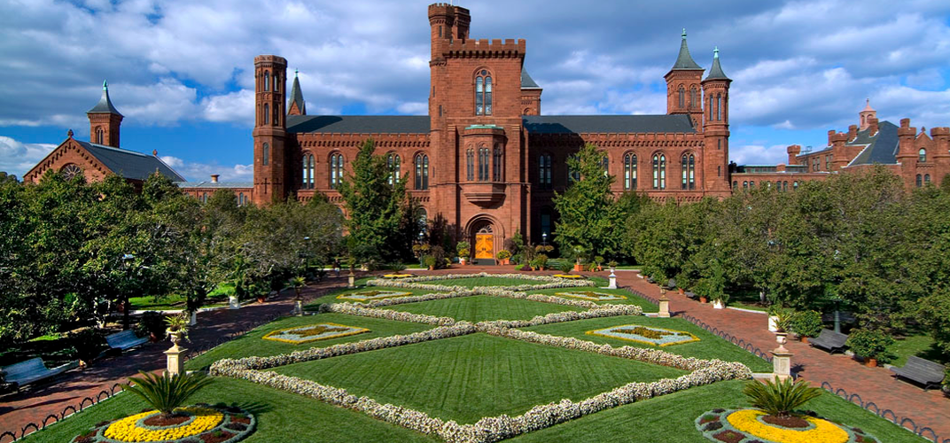 "The Smithsonian Institution Building, affectionately known as ""the Castle"""