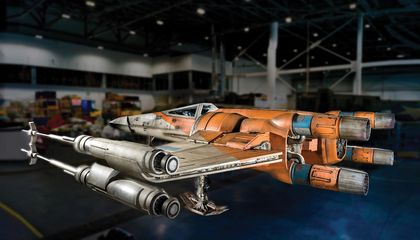 The 'Star Wars' Starfighter Will Soon Be a Museum Piece