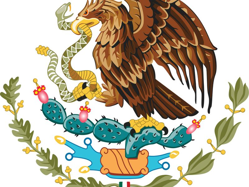 The seal of the United Mexican States