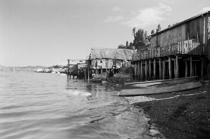 Houses in Chiloé