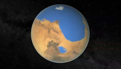 Mars Once Had an Ocean—A Big One